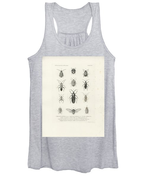 African Bugs And Insects Women's Tank Top