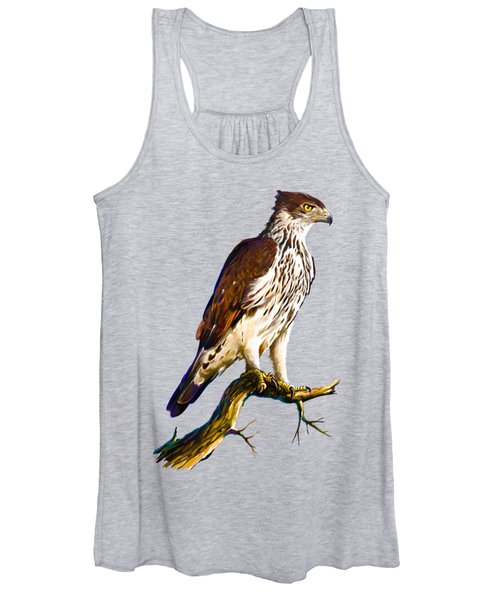 African Hawk Eagle Women's Tank Top