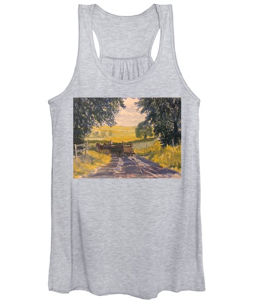 After Rain On The Wolds Way Women's Tank Top