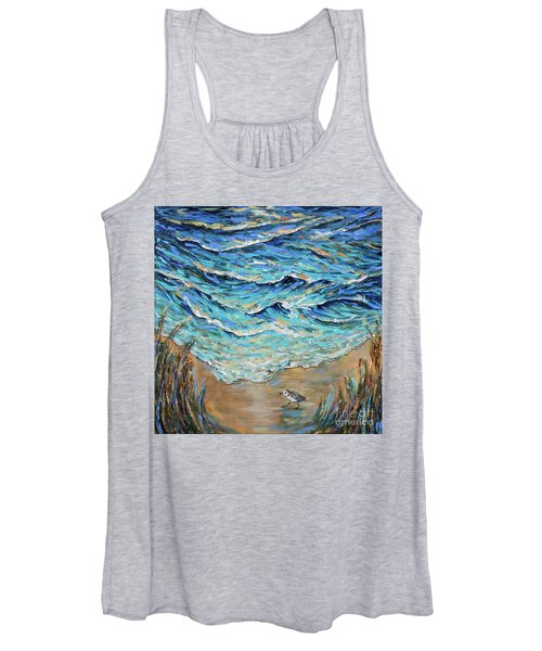 Afternoon Tide Women's Tank Top
