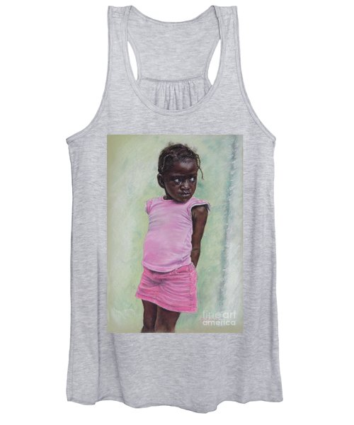 Against The Wall Women's Tank Top