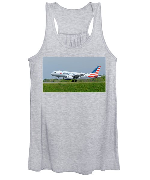 Airbus A319 Women's Tank Top