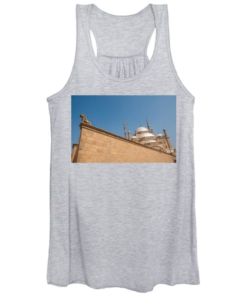Alabaster Mosque From A Diagonal Perspective Women's Tank Top