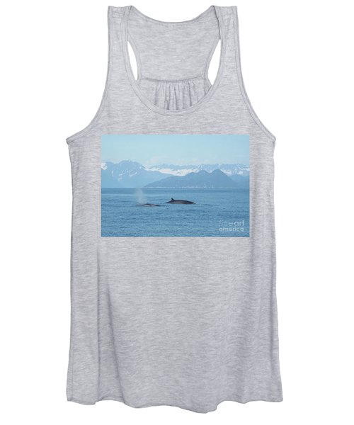 Alaska Finback Whales Women's Tank Top