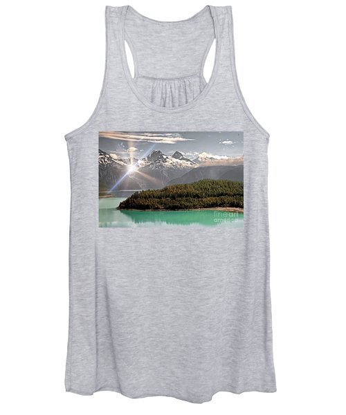 Alaskan Mountain Reflection Women's Tank Top