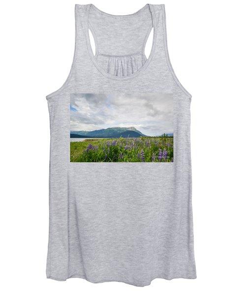 Alaskan Wildflowers Women's Tank Top