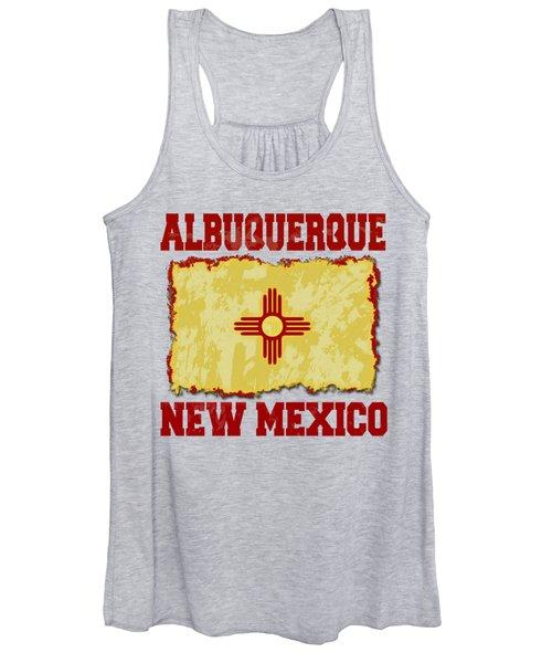 Albuquerque New Mexico Women's Tank Top