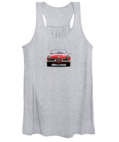 Alfa Romeo Spider Women's Tank Top