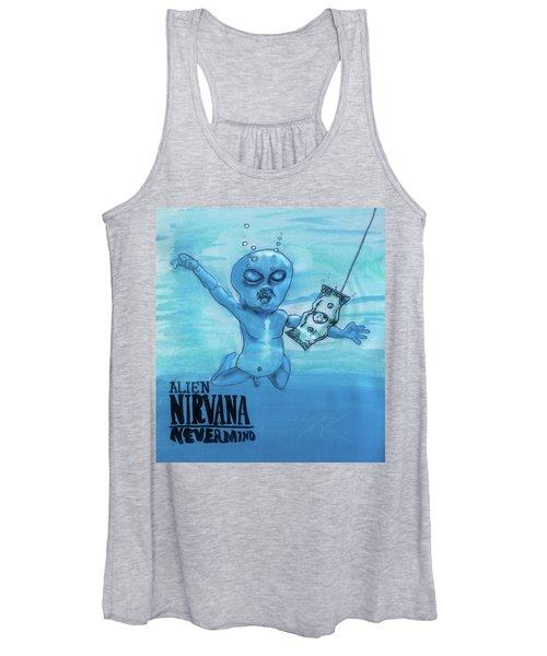 Alien Nevermind Women's Tank Top