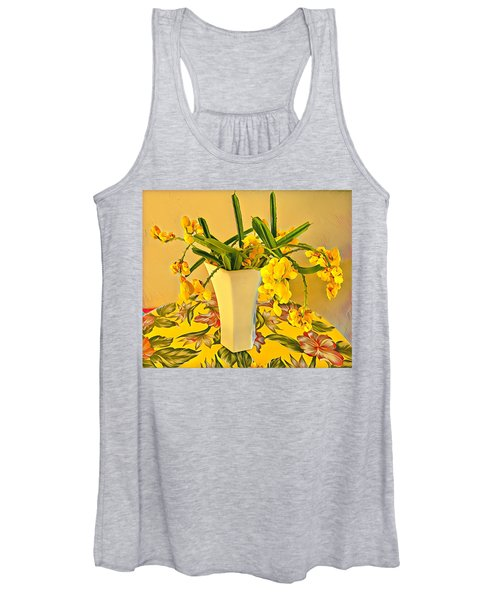Aloha Bouquet Of The Day - Yellow Wild Flowers Women's Tank Top