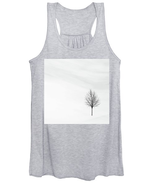 Alone In The Storm Women's Tank Top