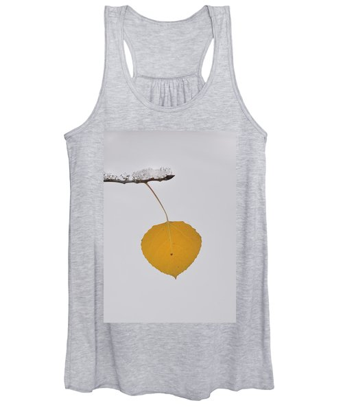 Alone In The Snow Women's Tank Top