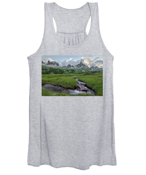 Alps In The Afternoon Women's Tank Top