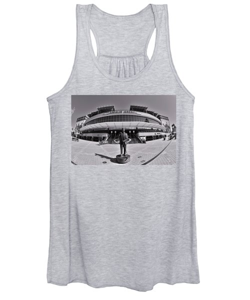 Amalie Arena Black And White Women's Tank Top