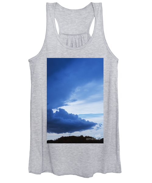 Amazing Blue Sky Vertical Women's Tank Top