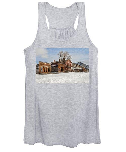 American Ghost Town Women's Tank Top