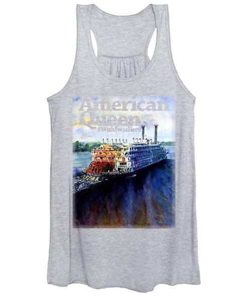 American Queen Shirt Women's Tank Top