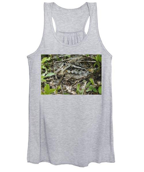 American Woodcock Nesting Women's Tank Top