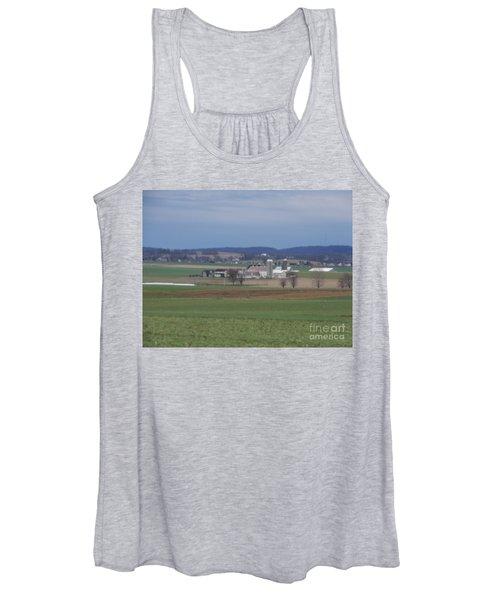 Amish Homestead 3 Women's Tank Top
