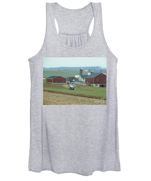 Amish Homestead 6 Women's Tank Top