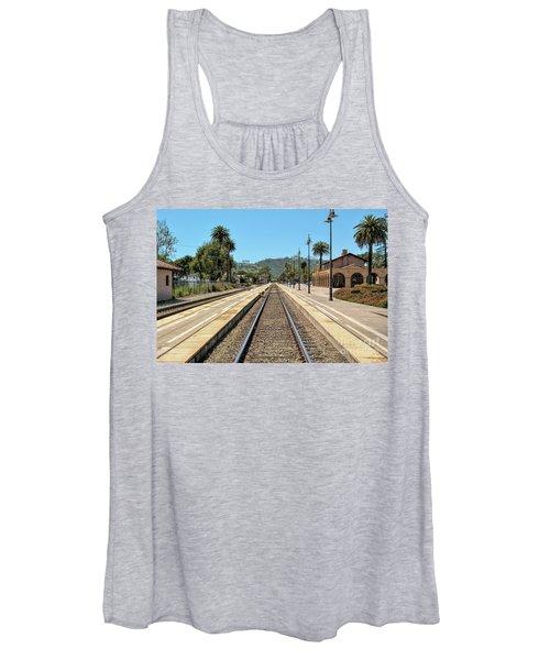 Amtrak Station, Santa Barbara, California Women's Tank Top