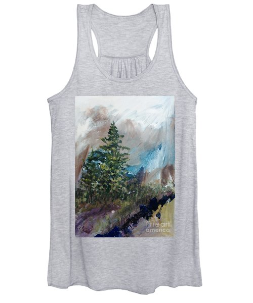 An Yosemite Afternoon Women's Tank Top