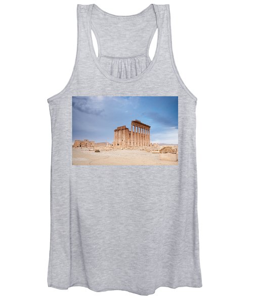 Ancient City Of Palmyra Ruins Again Women's Tank Top