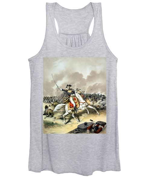 Andrew Jackson At The Battle Of New Orleans Women's Tank Top