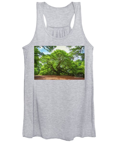 Angel Oak Tree In South Carolina  Women's Tank Top