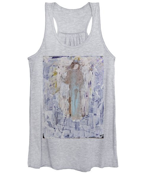 Angel With Her Horse Women's Tank Top