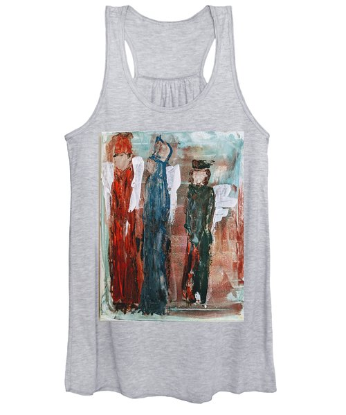 Angels Of The Night Women's Tank Top