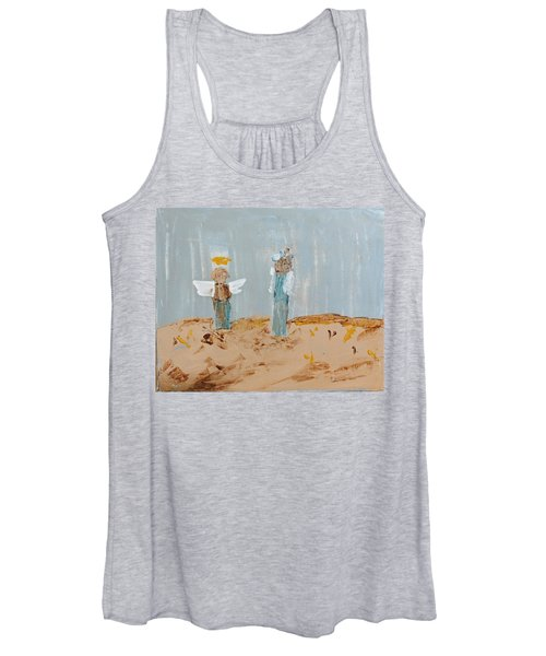 Angels Taking Care Of E Women's Tank Top
