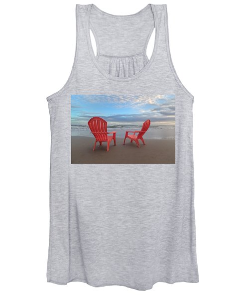 Another Busy Beach Day Women's Tank Top
