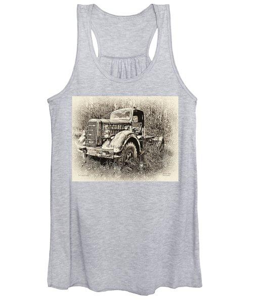 Antique 1947 Mack Truck Women's Tank Top