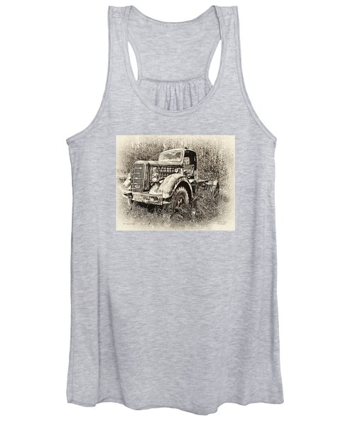 Antique 1947 Mack Truck Women's Tank Top