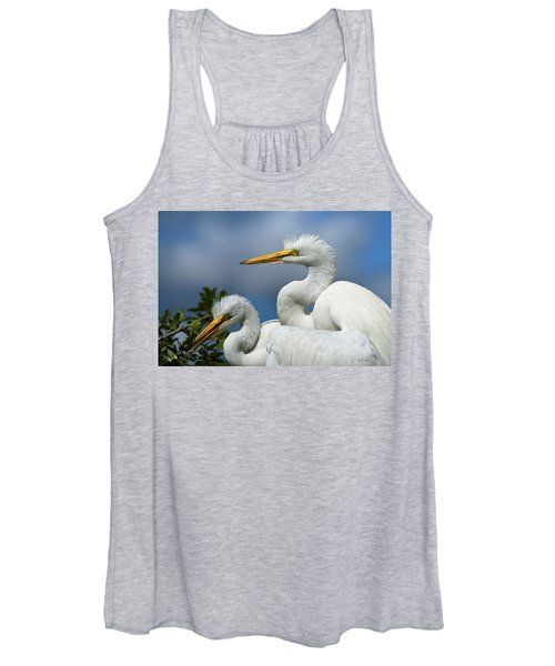 Anxiously Waiting Women's Tank Top