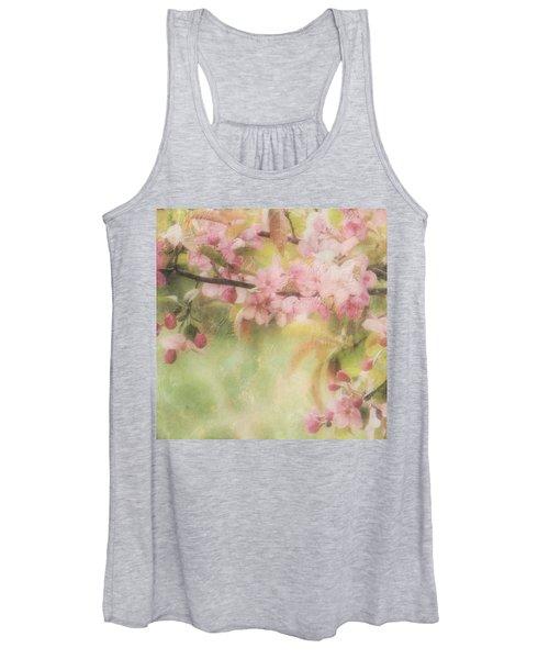 Apple Blossom Frost Women's Tank Top