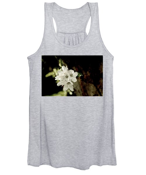 Apple Blossom Paper Women's Tank Top