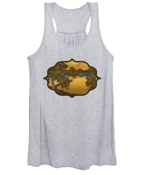 Apple Sunset Women's Tank Top