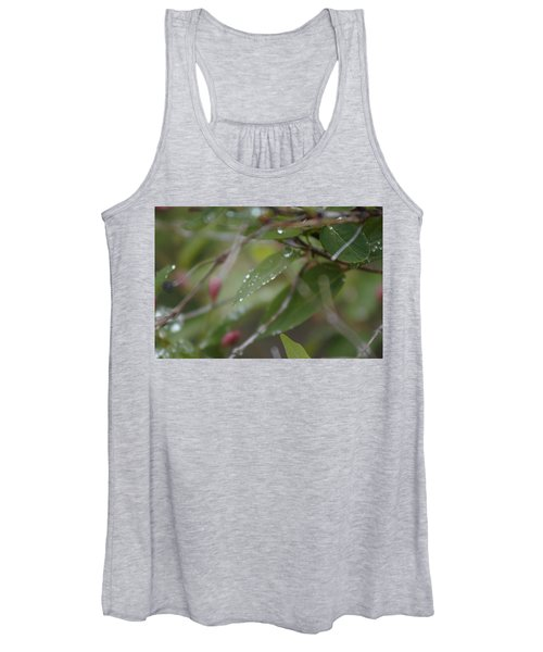 Women's Tank Top featuring the photograph April Showers 1 by Antonio Romero
