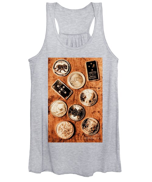 Art Of A Sliver Collector Women's Tank Top