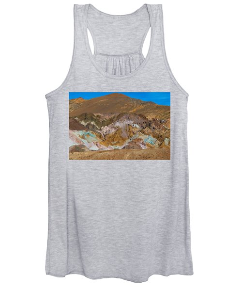 Artists Palette At Death Valley Women's Tank Top