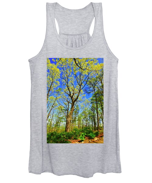 Artsy Tree Series, Early Spring - # 04 Women's Tank Top