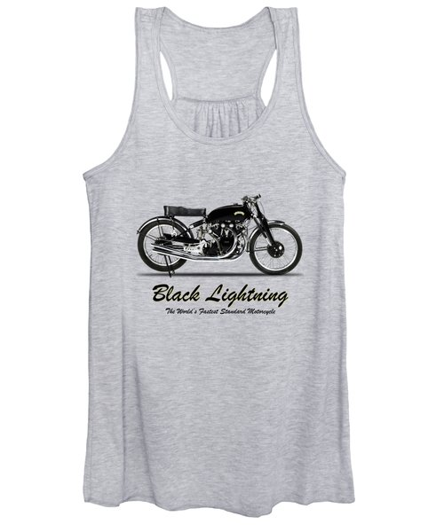 Vincent Black Lightning Women's Tank Top