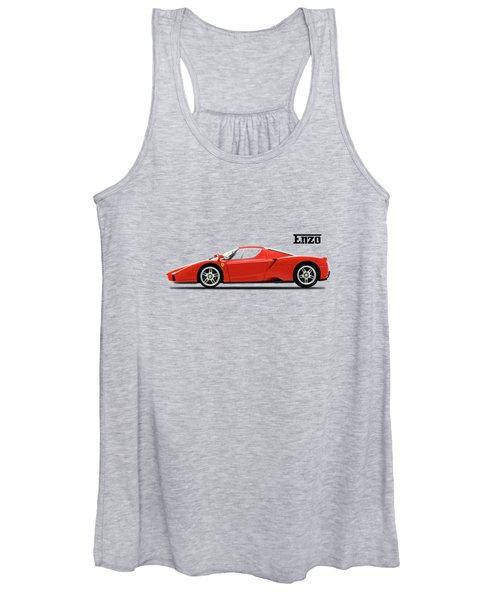 The Ferrari Enzo Women's Tank Top