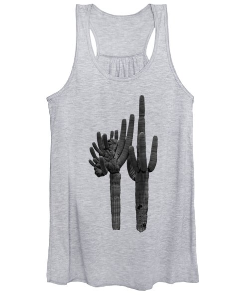 Saguaro Duo Bw Women's Tank Top