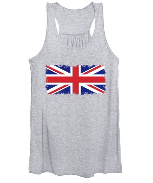 Union Jack Ensign Flag 1x2 Scale Women's Tank Top