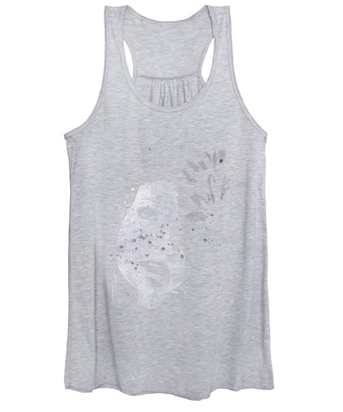 Lack Of Interest - Silver Women's Tank Top