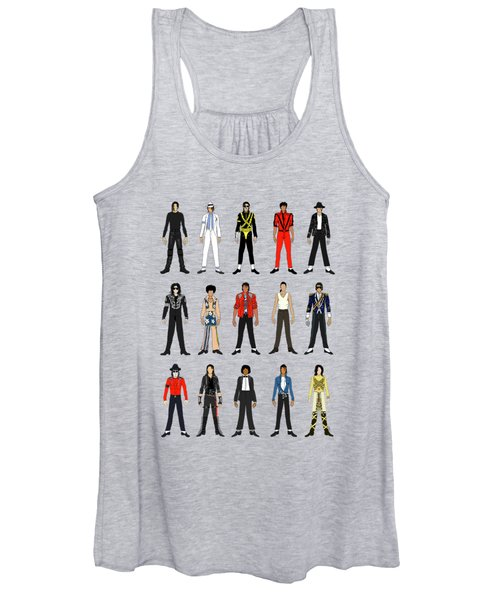 Outfits Of Michael Jackson Women's Tank Top