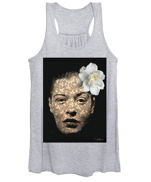 Billy Holiday Women's Tank Top